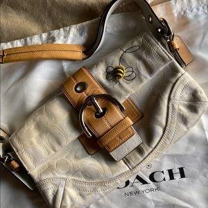 Coach bag - with appliqué